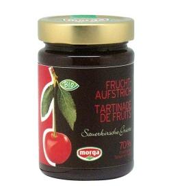 BIO-Fruchtaufstrich mit Sauerkirsche – 350g – Morga