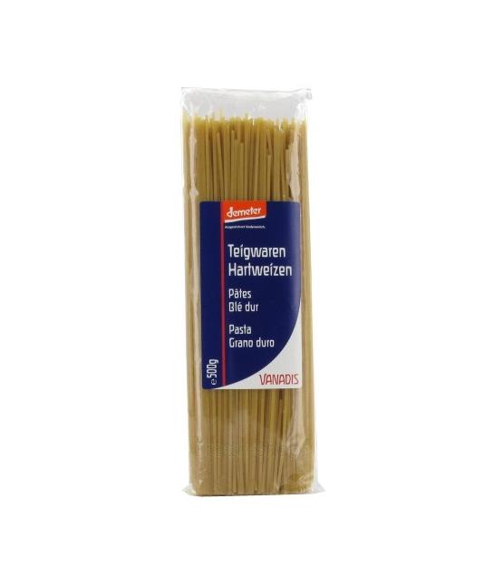 Spaghetti de blé dur BIO - 500g - Vanadis