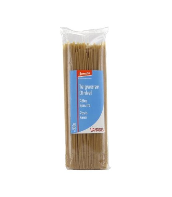 BIO-Spaghetti aus Dinkel - 500g - Vanadis