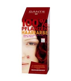 Poudre colorante végétale BIO acajou - 100g - Sante