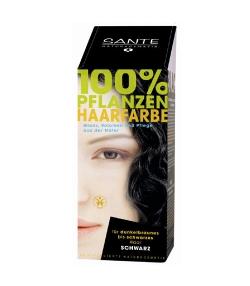 Poudre colorante végétale BIO noir - 100g - Sante