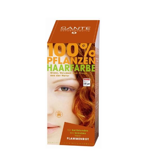 Poudre colorante végétale BIO cuivre - 100g - Sante