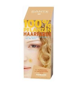 BIO-Pflanzen-Haarfarbe Pulver Rotblond - 100g - Sante