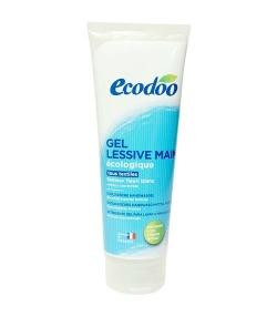 Gel lessive main écologique fleuri blanc – 25 lavages – 250ml – Ecodoo