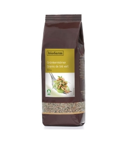Grains de blé vert BIO – 500g – Biofarm