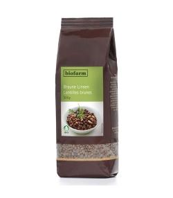 Lentilles brunes BIO – 500g – Biofarm