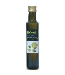 Huile d'olive au citron BIO – 250ml – Biofarm
