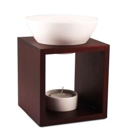 Teelicht-Duftlampe Mahara für ätherischer Öle – Farfalla