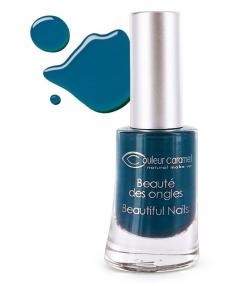 Vernis à ongles mat N°59 Bleu profond – 8ml – Couleur Caramel
