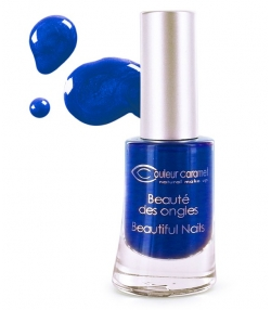 Vernis à ongles nacré N°58 Bleu nuit – 8ml – Couleur Caramel