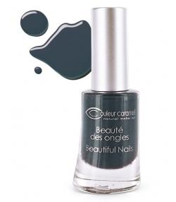 Vernis à ongles mat N°61 Gris noir – 8ml – Couleur Caramel