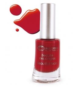 Vernis à ongles nacré N°42 Rouge poinsettia – 8ml – Couleur Caramel