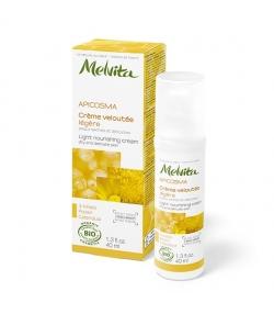 Crème veloutée légère BIO miel peau sèche & délicate – 40ml – Melvita Apicosma