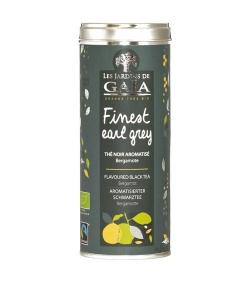Aromatisierter BIO-Schwarztee mit Bergamotte – Finest Earl Grey – 100g – Les Jardins de Gaïa