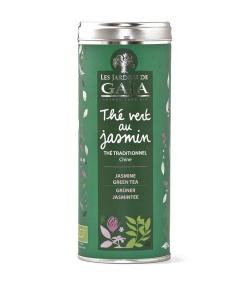 Thé vert au jasmin BIO – 100g – Les Jardins de Gaïa