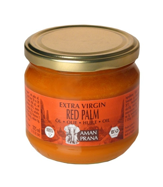 Huile de palme rouge BIO - 325ml - Aman Prana