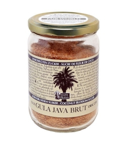Sucre de fleur de noix de coco brut BIO – Gula Java Brut – 310g – Aman Prana