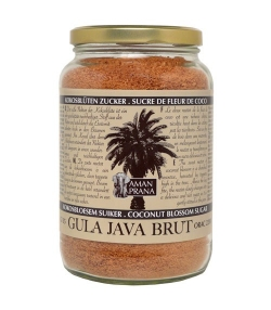 BIO-Kokosblüten Zucker – Gula Java Brut – 1kg – Aman Prana