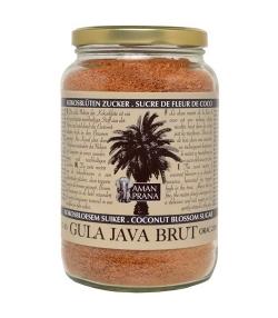 Sucre de fleur de noix de coco brut BIO – Gula Java Brut – 1kg – Aman Prana