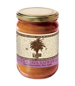 Boisson énergisante Safran & sucre de fleur de noix de coco BIO – 310g – Aman Prana