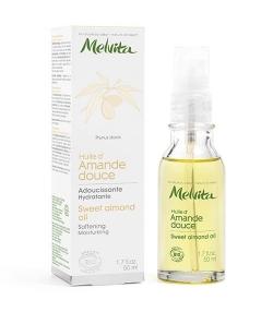BIO-Süssmandelöl für trockene, empfindliche & Baby- Haut – 50ml – Melvita