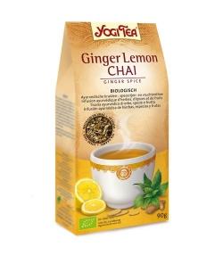 BIO-Kräutertee mit Ingwer & Zitrone – Ingwer Zitrone Chai – 90g – Yogi Tea