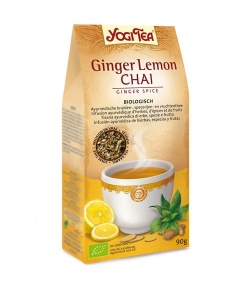 Infusion de gingembre & citron BIO – Ginger Lemon Chai – 90g – Yogi Tea