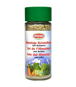 Sel de l'Himalaya aux herbes BIO – 100g – Morga