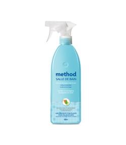 Nettoyant salle de bain spray écologique menthe & eucalyptus – 828ml – Method