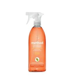 Nettoyant cuisine spray quotidien écologique clémentine – 828ml – Method