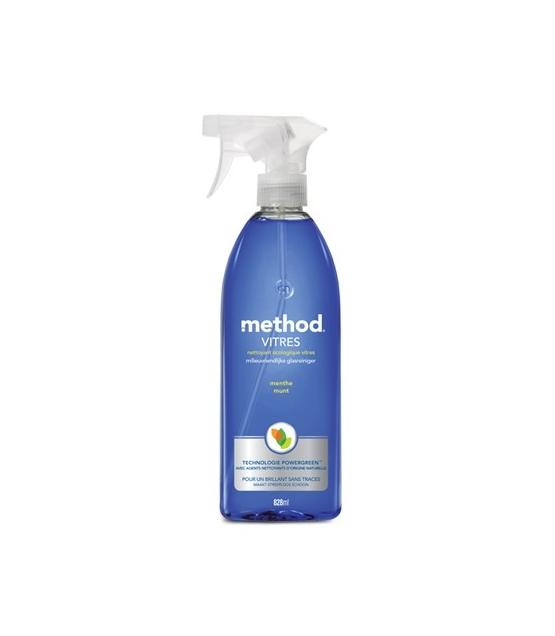 Nettoyant pour vitres spray écologique menthe – 828ml – Method