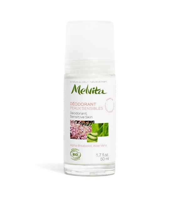 Déodorant à bille BIO alpha bisabolol & aloe vera – 50ml – Melvita
