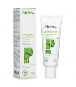Fluide équilibrant matifiant BIO menthe poivrée & sève de bouleau peau mixte & grasse – 40ml – Melvita Nectar Pur