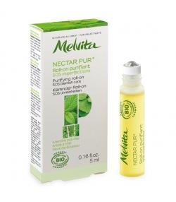 Roll-on purifiant SOS imperfections BIO menthe poivrée & sève de bouleau peau mixte & grasse – 5ml – Melvita Nectar Pur