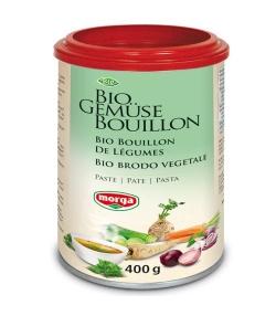 BIO-Gemüse-Bouillon in Paste – 400g – Morga
