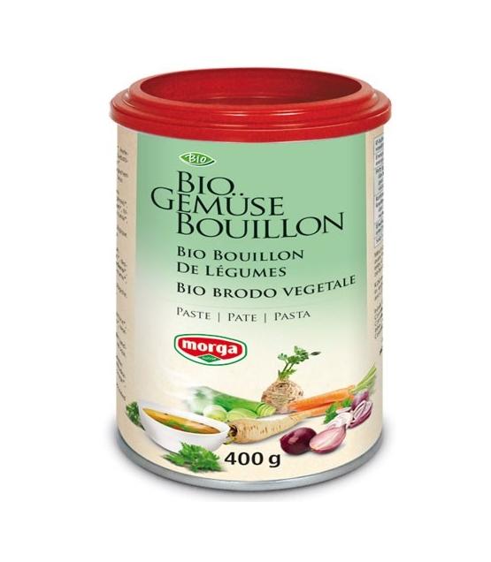 Bouillon de légumes en pâte BIO - 400g - Morga