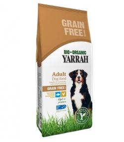 BIO-Trockenfutter Huhn & Fisch ohne Getreide für Hund – 2kg – Yarrah