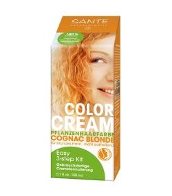 BIO-Pflanzen-Haarfarbe Creme Cognac Blonde – 150ml – Sante