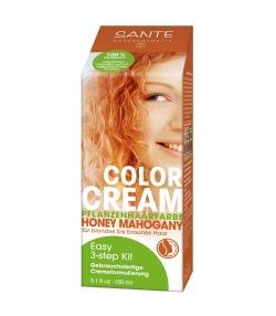 BIO-Pflanzen-Haarfarbe Creme Honey Mahogany – 150ml – Sante
