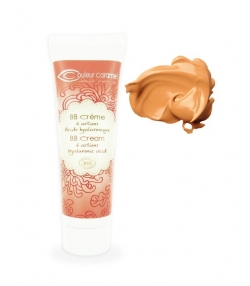 BB Crème BIO N°12 Beige doré – 30ml – Couleur Caramel