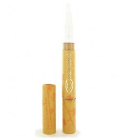 Pinceau illuminateur de teint BIO N°32 Perfect abricot – 2ml – Couleur Caramel