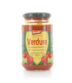 Sauce tomate aux légumes BIO – 340g – Vanadis