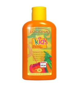 Shampooing & gel douche enfant BIO fruits - 200ml - Logona Kids