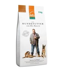 Croquettes BIO volaille pour chien senior – Senior – 3kg – Defu