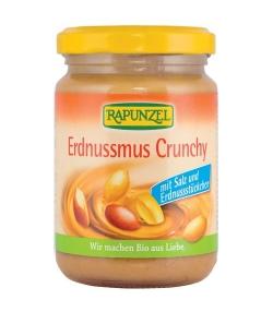 Purée de cacahuètes avec sel BIO – Crunchy – 250g – Rapunzel