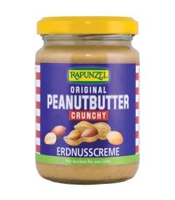 Beurre de cacahuète BIO – Peanutbutter Crunchy – 250g – Rapunzel
