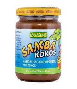 BIO-Haselnuss-Schoko-Creme mit Kokos – Samba Kokos – 250g – Rapunzel