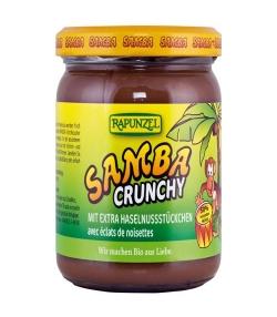 BIO-Haselnuss-Schoko-Creme mit extra Haselnussstückchen – Samba Crunchy – 375g – Rapunzel
