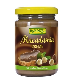 Crème aux noix de macadamia BIO – 250g – Rapunzel