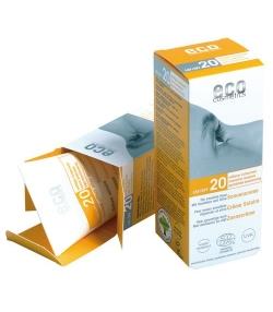 Crème solaire visage & corps BIO IP 20 argousier – 75ml – Eco Cosmetics